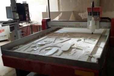CNC para pvc, madera, piedra y alumini GRANDE
