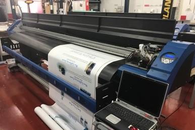 Impresora Gran Formato Solvent 3,2 M. Cabezales Epsomn DX7