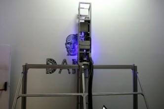 Impresora UVI impresion vertical