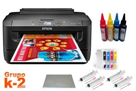Impresora sublimación Epson A3 con cartuchos rellenables