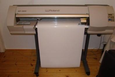 Plotter Roland SP300 impresión y corte