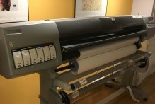 Plotter HP 5.500 medida 1,52 m